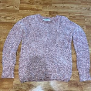 Pink Rose knitted sweater